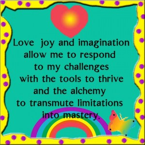 Love, Joy and Imagination Reduce Stress in Problem Solving