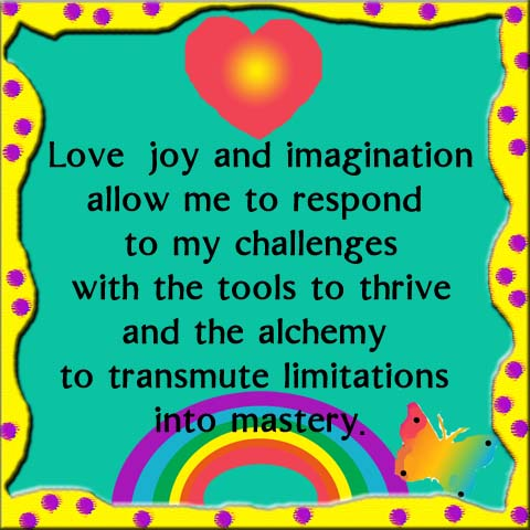 The Healing Power of love, joy and imagination