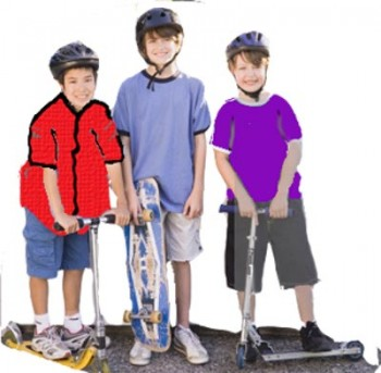 Story: Three Boys at the Top of the Hill