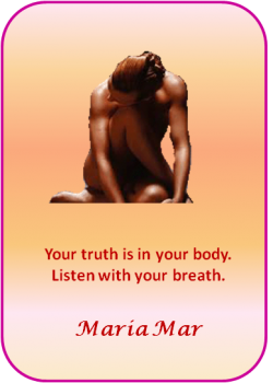 ARTspiration No. 22: Your Truth is in your Body