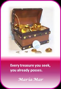 Artspiration No. 18: The treasure you seek