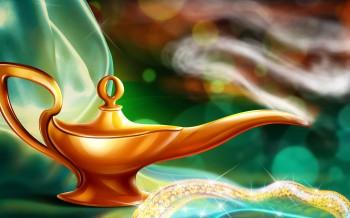 Poem: The Magic Lamp