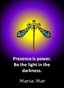 ARTspiration No. 58-Presence is Power