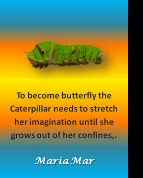 ARTspiration No. 60-Caterpillar Growth