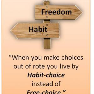 Artspiration- Habit kills freedom