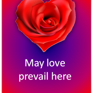 Artspiration: May love prevail here